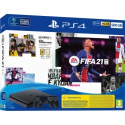 SONY PS4 500GB + FIFA 21 + FUTVCH + PS 14 DAYS + 2ND DS4 V2 - PS719829621