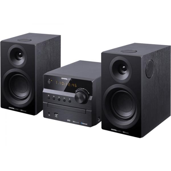 CRYSTAL AUDIO 3D-HIFI360 BLACK