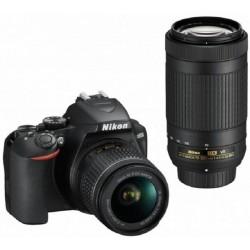 NIKON D3500 DOUBLE SPECIAL KIT AF-P DX 18-55 VR + AF-P 70-300 VR ΜΑΥΡΗ