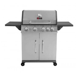 THERMOGATZ GS GRILL ELITE 4+1 ΙΝΟΧ - 14,5 kW