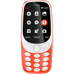 NOKIA 3310 (2017) (16MB) DUAL WARM RED