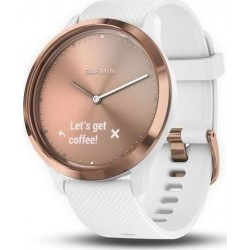 GARMIN VIVOMOVE HR ROSE GOLD-WHITE